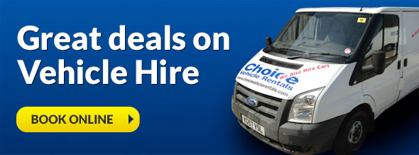 vehicle hire deals