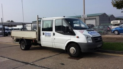 1 FORD TRANSIT 350 Double Cab Truck
